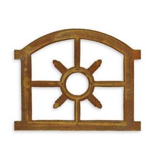 Kleines Oberlicht Halbrund Gusseisen Fenster Eisenfenster Stallfenster G1089