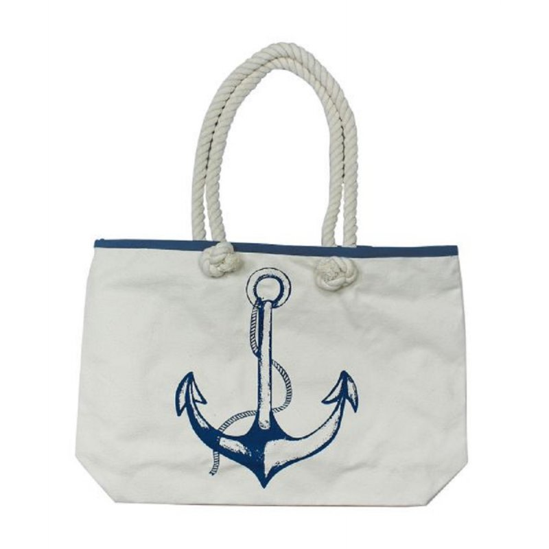 suchen großer Diskontverkauf riesige Auswahl an Tasche mit Anker Motiv, Edle Strand Tasche, Marine Schultertasche