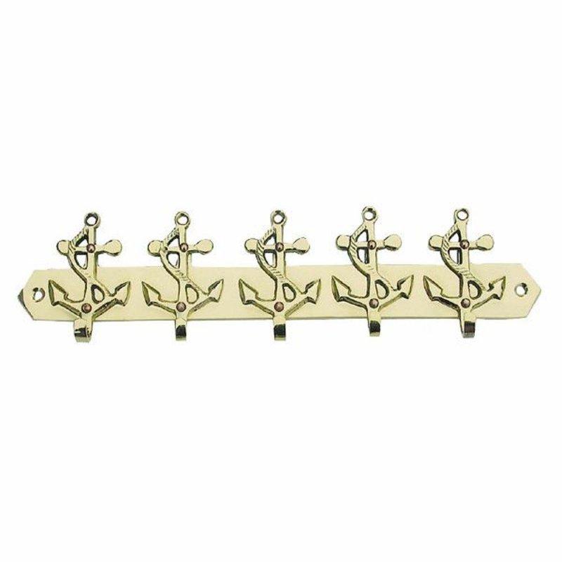 14 cm mit Kette ca Signalhorn Nebelhorn Fantröte Messing poliert