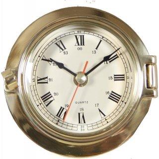 XXL Stundenuhr Sanduhr Holz Messing poliert 60 Minuten G4142 doppel Glasenuhr