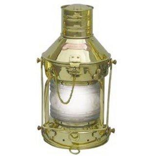 Altmessing Schiffslaterne G4044: Ankerlaterne Nautik Lampe Elektro Lampe