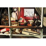 Steering wheels, portholes, lifebelts, anchors, propellers